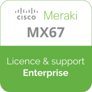 Licence Meraki MX67 Enterprise