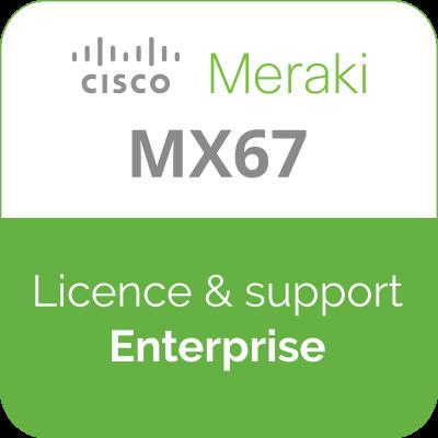 Licence Meraki MX67 Enterprise