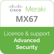 Licence Meraki MX67 Advanced Security