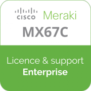 Licence Meraki MX67C Enterprise