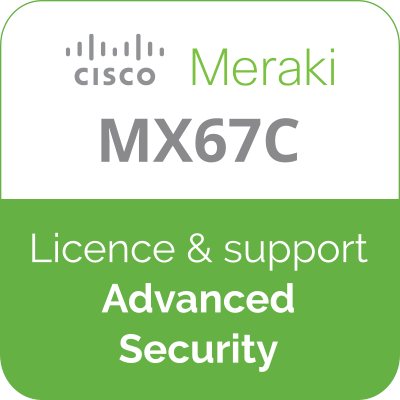 Licence Meraki MX67C Advanced Security