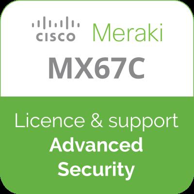 Licence Meraki MX67C Advanced Security