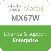 Licence Meraki MX67W Enterprise