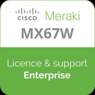 Licence Meraki MX67W Enterprise