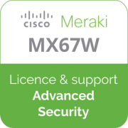 Licence Meraki MX67W Advanced Security