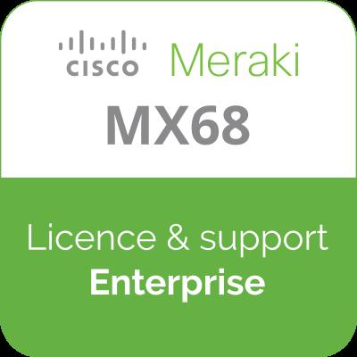 Licence Meraki MX68 Enterprise