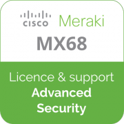 Licence Meraki MX68 Advanced Security