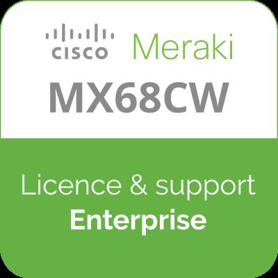 Licence Meraki MX68CW Enterprise