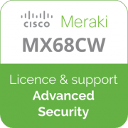 Licence Meraki MX68CW Advanced Security