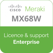 Licence Meraki MX68W Enterprise