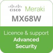 Licence Meraki MX68W Advanced Security