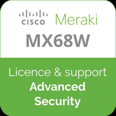 Licence Meraki MX68W Advanced Security