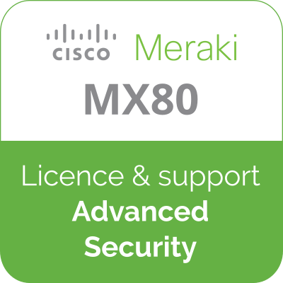 Licence Meraki MX80 Advanced Security